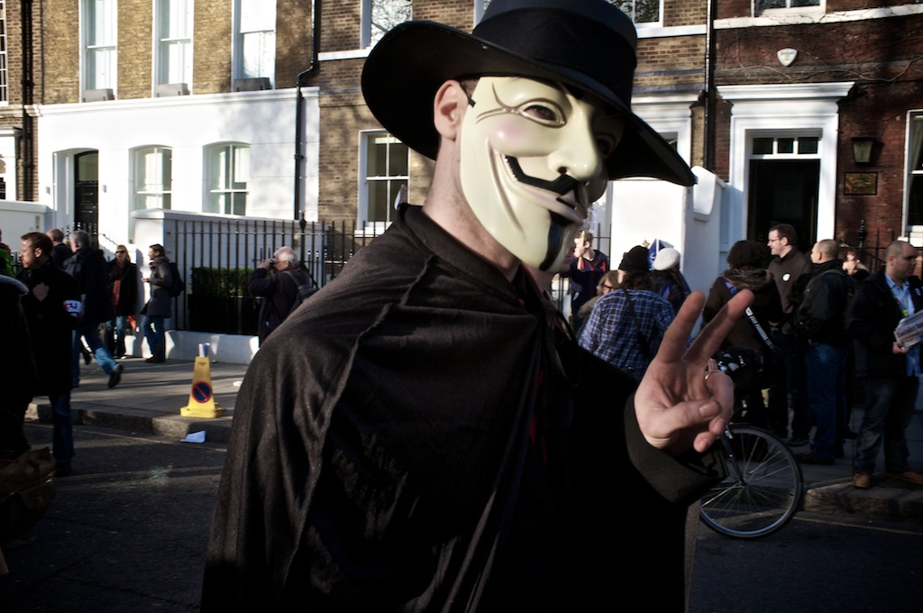 It's About Being Anonymous – And Peaceful